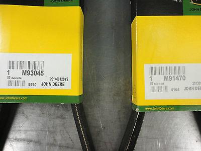 M91470 Replacement Belt 5//8x47 JOHN DEERE 91470