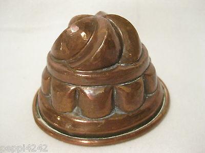 ++ alte  Kupfer Backform - Kupferform - Kupfermodel  - Ø 9,5 cm ++Hhj 7