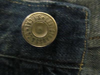 e8ef84de5e0 ... Levis Vintage Lvc 1915 501 White Oak Blue Selvedge Jeans Cinch Back  Buttons W 30 6