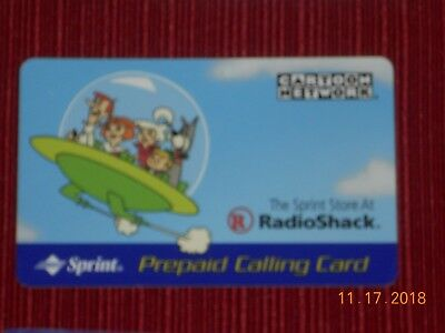 COLLECTIBLE  Phone Cards (5) ET, JETSON, STACKHOUSE, CARTER, & FLOYD 4