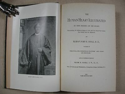 The Human Heart Illustrated written by Bishop John B. Small - 1893 2