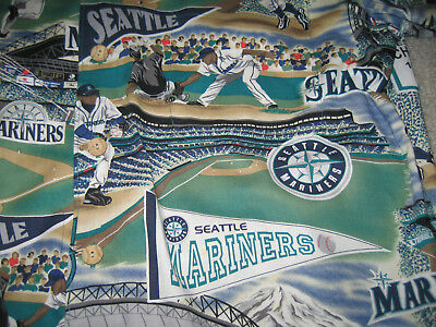 c5cd5ae8 ... Seattle Mariners Hawaiian Shirt Classic Mariner's Tradition Reyn  Spooner Medium 4