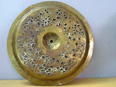 Antique Islamic / Ottoman / Persian  Arabic Copper or Brass hand wash dish bowl 9 • CAD $1,066.07