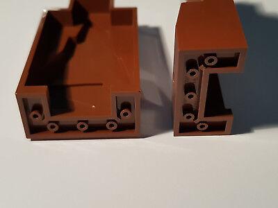 4 x LEGO ® 32952 système Pierre convertisseur en 1x2 rouge article neuf.