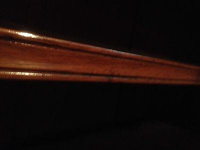 fine quality large antique gothic light golden oak victorian book case 8