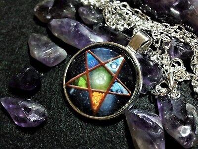Pentacle Pendant,spiritual,pagan,wiccan,witchcraft,symbolic,unisex,pentagram 2