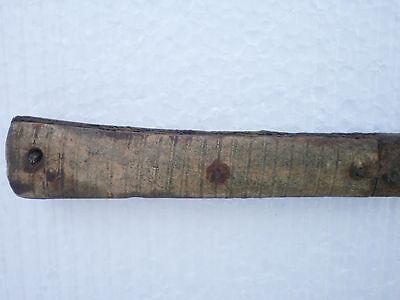 ANCIENT RARE Medieval Iron RAZOR KNIFE Bone Onlay 17 century AD 5