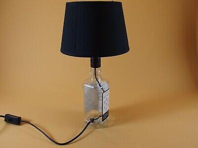 Jim Beam - Flaschen Lampe Tischlampe LED 220V mit Schalter SEHR ORIGINELL S1 8