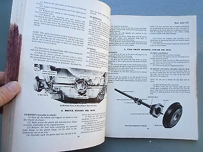 Toyota Corolla 1200 With 3K Engine Workshop Manual Late 1960'S Early 1970'S 8