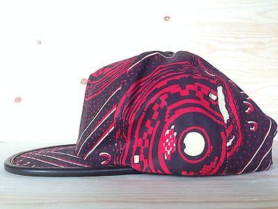 51f7602fbcb ... Supreme Cairo Five 5 Panel Hat Snapback Burgundy Red Leather Camp Cap  Box Logo 3