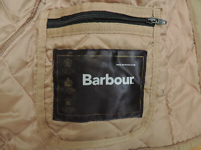 a0251a08b7f7c WOMEN'S BARBOUR D 370 Eskdale Jacket XX Small Jacket Quilted Brown Gold  A2-B7
