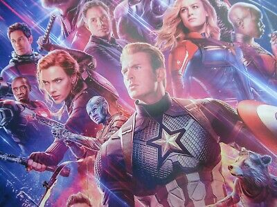 """Avengers -  Endgame ( 11"""" x 17"""" ) Movie Collector's Poster Print ( T2 )- B2G1F 8"""