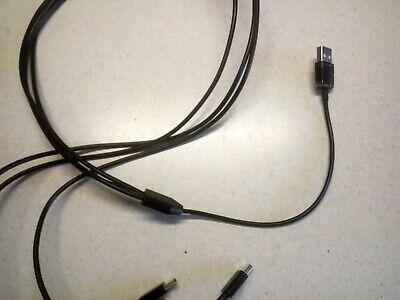 CA XP Deus /& ORX Metal Detectors Mini USB 3-Way ChargerCharging Cable