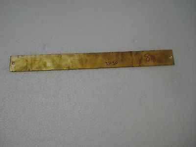 CERT. HOSPITAL – Marine BRASS Door Sign -  Boat/Nautical - 10 x 1 Inches (84)