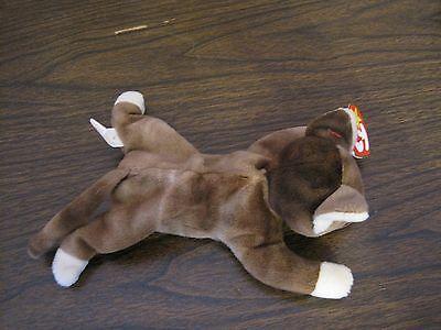 d2c0de904ba 1997 TY ORIGINAL Beanie Baby---Pounce--Cat---Date Of Birth--August ...
