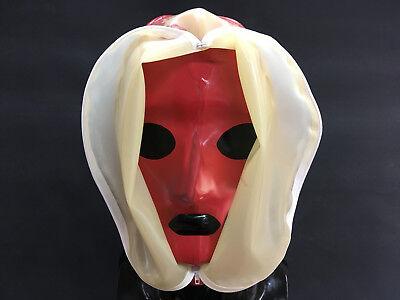 "----- LATEXTIL ----- Latex Maske ""ERGOBREATH"" Mask Masque Latex Rubber -NEU- 4"