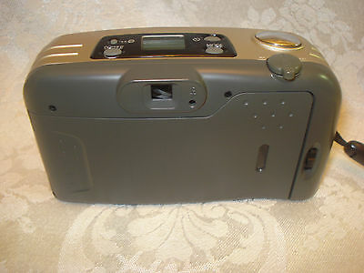 BELL HOWELL PZ2200 35mm FILM  POINT AND SHOOT CAMERA 35-70mm LENS/ LEATHER CASE 6