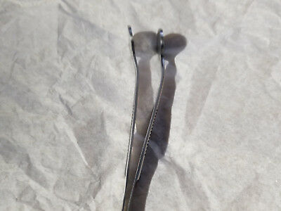 New Meibomian Gland Expressor Flat Forceps Expressing Dry Eyes Ophthalmic