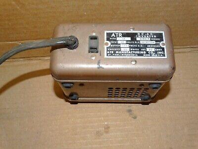 Vintage ATR  DC-AC Inverter*Model DME* Parts/Repair** 4