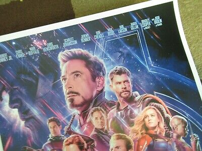"""Avengers -  Endgame ( 11"""" x 17"""" ) Movie Collector's Poster Print ( T2 )- B2G1F 6"""