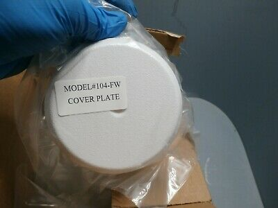 25 Pack NEW 104-FW COVER PLATE (WHITE) 2