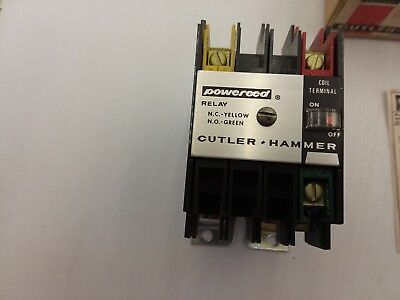 CUTLER-HAMMER TYPE R REED RELAY 24//28 DC D40RBT1 NIB