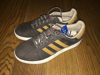 los angeles 4c2f1 d8328 ... Adidas Munchen Oktoberfest Made in Germany BY9805 Brown Prost Leather  Very Rare 3