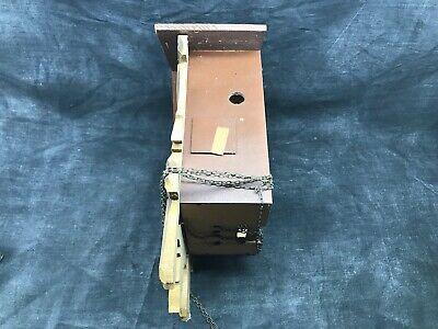 Antique Cuckoo, Control West Germany Cash Wooden Clock Pendulum 4