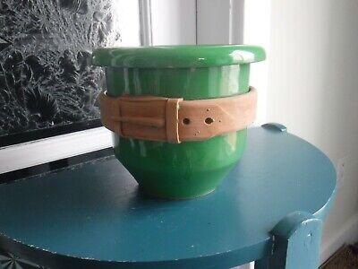 Vintage Green Italy Planter 11
