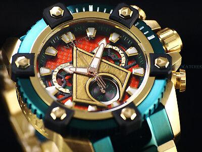 New Invicta DC Comics Aquaman Grand 63mm Arsenal Ltd Ed. Swiss Chrono TTIP Watch 2