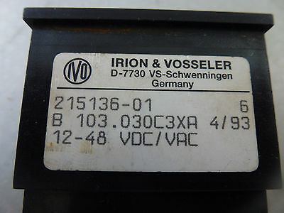 Irion /& Vosseler Bedienpanel NE646,NE646.080B67A