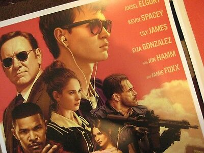 """Baby Driver  (11"""" x 17"""") Movie Collector's Poster Prints (Set of 3) 4"""