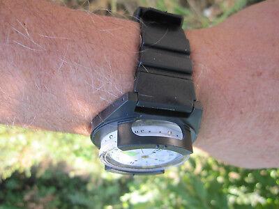 Herbertz grosser Uhrenkompass Uhr Kompass Outdoor Camping Armee BW Zusatzkompass