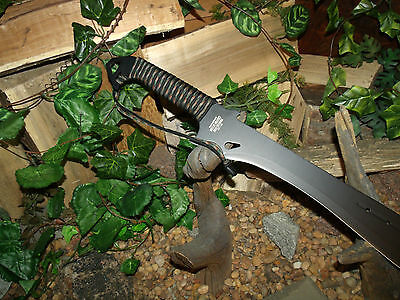 Machete/Knife/Sword/Blade/Full tang/Hunting/Camping/Survival/Combat/P550 wrap 4