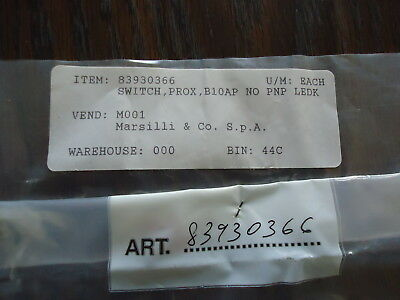 New Marsilli & Co. Switch #83930366. Prox, Bioa0 No Pnp Ledk Vend: Mooi 2