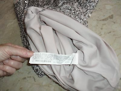 ELEGANTE E PRESTIGIOSO Vestito Abito Zara T. S Con Ricami E