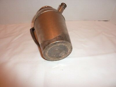 Antique Vintage J F Silverplate Cocktail Shaker Pitcher with Handle 5