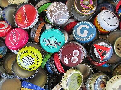 100 Beer Bottle Caps (( No Dents )) Good Mixture of Beer Caps 3