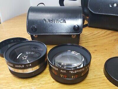 Lot Vtg Camera & Lenses Kodak VR35 Yashica Conversion Kit Tele-wide Finder Japan 7