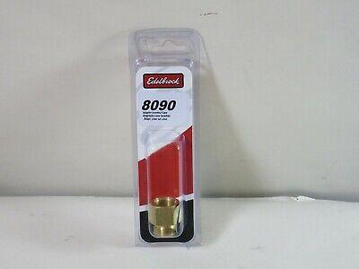Brass Natural 5//8-20 Thread Edelbrock 8090 Carburetor Fuel Inlet Fitting