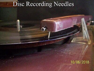 Record lathe cutting stylus presto vinyl record rek-o-kut RCA Wilcox-gay 2