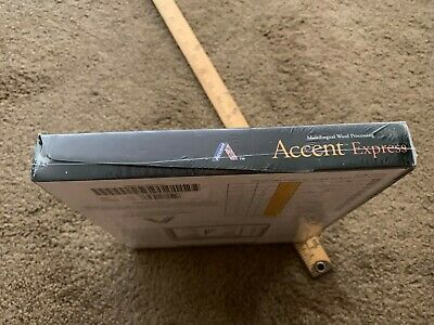 ACCENT  Multilingual WP for Windows 95 > WORD PROCESSING Express new 6