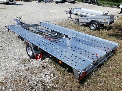 Autotransporter L- AT 350 G-K 1500 kg Pongratz kippbar mit Spiralkabel 3