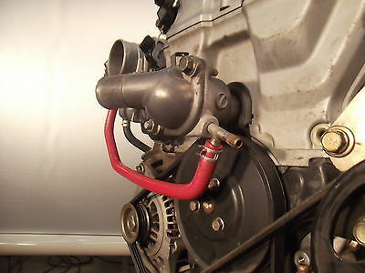 Miatamecca Radiator ByPass Hose Oil Cooler 94-97 Miata MX5 Mazda BPE815536 OEM
