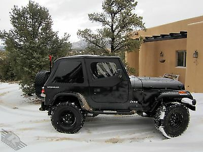 ... 1992 1995 Jeep Wrangler Frameless Soft Top Kit With Complete Mounting  Hardware