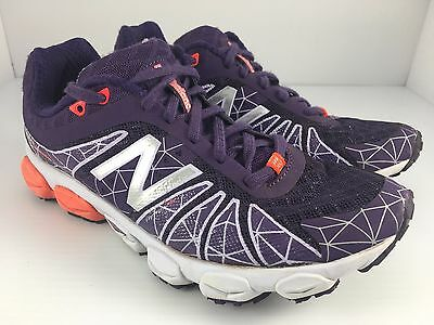 the latest afff7 f586e ... New Balance 890 V4 Barringer Women US 6.5 Purple + White Athletic  Running Shoes 8