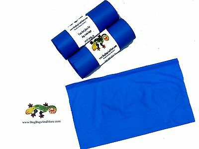 """Canine Poop Bags 500 Thick Biodegradable Doggie Pet Waste Collection 8X14"""" #10 6"""