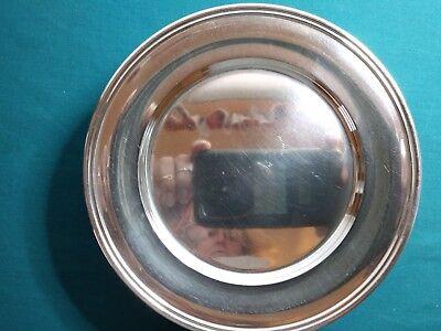 Vintage S. Kirk & Son Sterling Silver Bread & Butter Plates No Monogram #299 5
