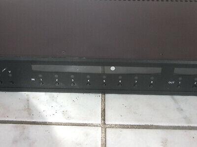 Crestron HD-MD8X2 QuickSwitch HD 8x2 HDMI Switcher 3