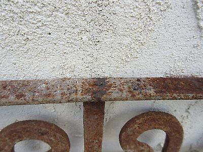 Antique Victorian Iron Gate Window Garden Fence Architectural Salvage #751 5